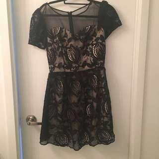 Chi Chi London Black Dress