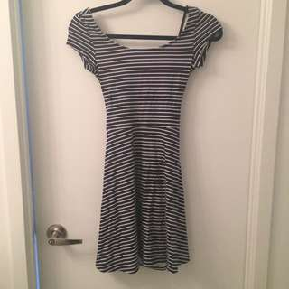 American Eagle Striped Dress XXS