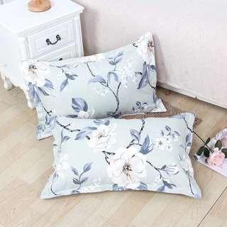 Pair of Pillow Cases 2 pc 100% Cotton