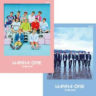 [NON-PROFIT GROUP ORDER] WANNA ONE TO BE ONE First Mini Album Unsealed Full SET