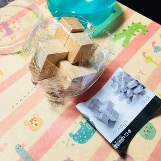 [二手全新扭蛋]日本可愛木頭榫扭蛋🇯🇵