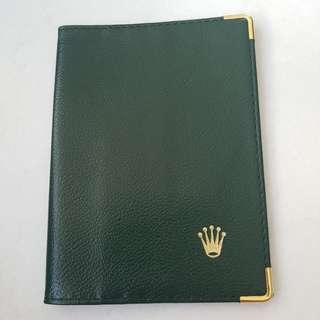 Rolex passport cover