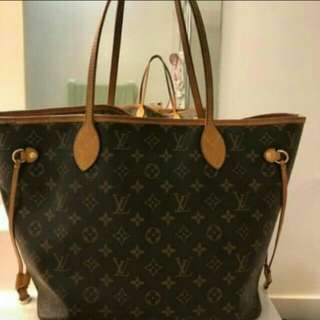 original!!lv neverfull monogram