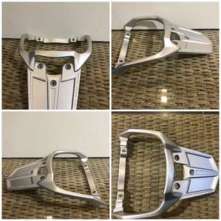 FJR 2017 Rear carrier original silver