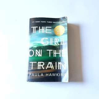 The Girl on the Train Book by Paula Hawkins (soft cover / used)