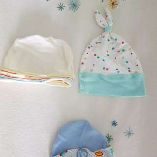 Baby Hats (Total of 3)