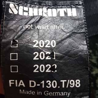 Schroth original 6 point harness