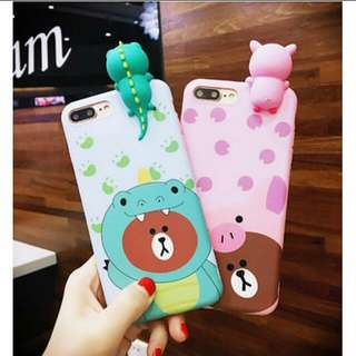 Kawaii Mr. Brown cellphone case (Vivo V5, V5s, Y67)