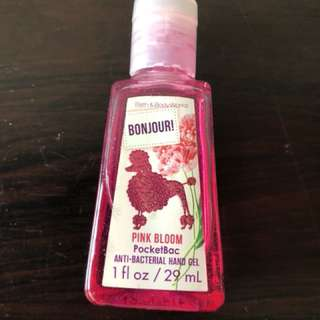 Bath & Body Hand Sanitizer - Pink Bloom