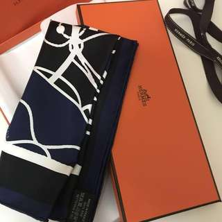 Hermes silk scarf (Limited Edition)