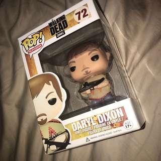 Super Rare Pop Vinyl Daryl Dixon 72