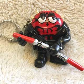 M&M StarWars Series Darth Maul LED Light Keychain