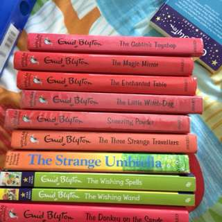 Collection of Enid blyton story books