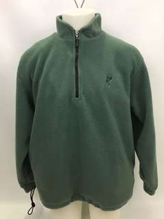 Ashworth fleece pullover sweater with interior lining men's size M