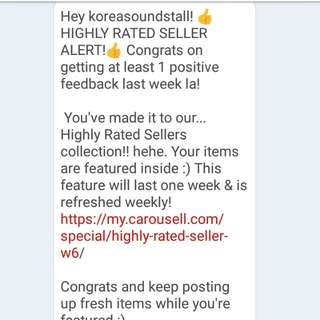 Highly rated seller! ❤️