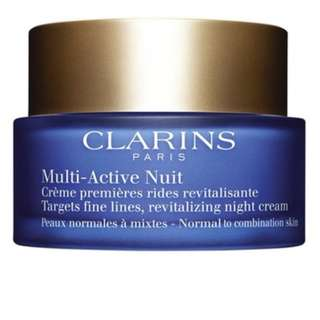 Clarins Multi-Active Night Cream Deluxe Sample 30ml