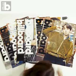 [SHARE] BTS Billboard Magazine Box Set