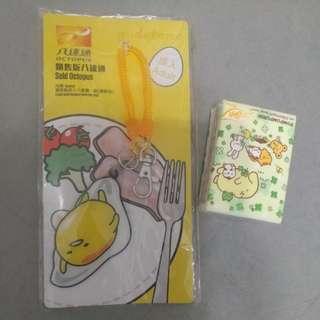 Sanrio gudetama 蛋黃哥 八達通