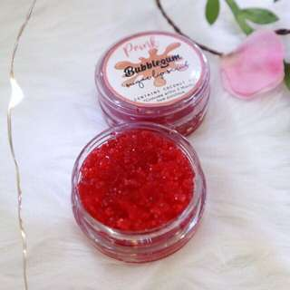 Bubble Gum Sugar Lip Scrub All Natural from Prink PH