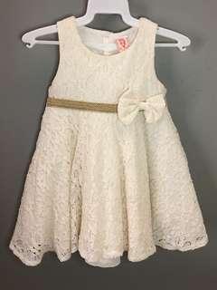 Lace Dress baby - 18M