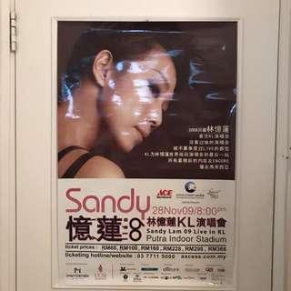 Sandy Lam 林憶蓮09KL演唱會海報
