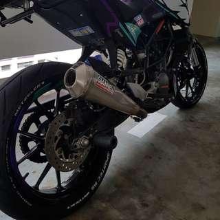 KTM Duke 200 2012