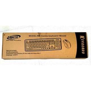 SQUTE Keyboard and Mouse