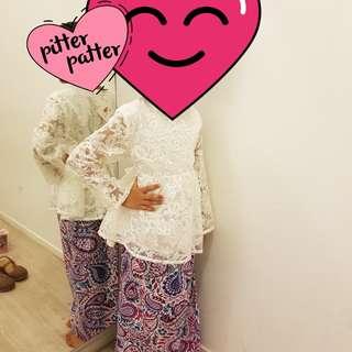BN baju kurung set for Girls