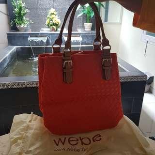 Webe orange bag