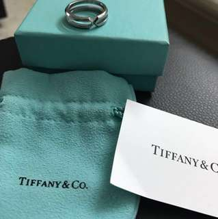 Tiffany & co ring size 8 authentic