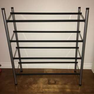 Metal Shoe Rack - Adjustable