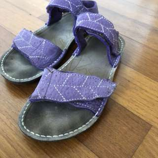 Sandal full leather handmade