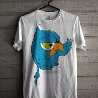 Kaos print DTG 100% cotton combed