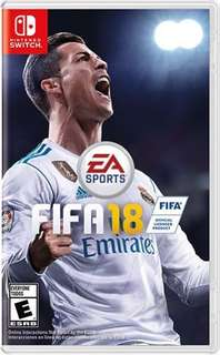 Switch: FIFA (全新, 原包裝. New & unopened)