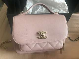 Chanel business affinity flap classic quilt