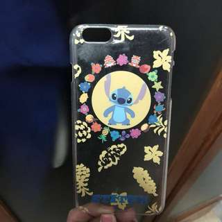 Used 正版 史迪仔phone case for iPhone 6plus