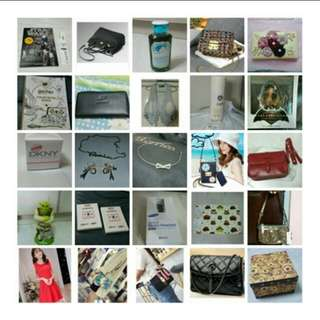 Mostly BN bags toys mobile dress etc