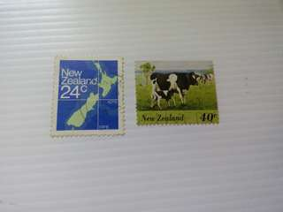 New Zealand Stamps Used #M24