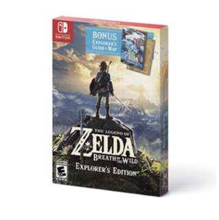 The Legend of Zelda: Breath of the Wild - Explorer's Edition (Nintendo Switch)