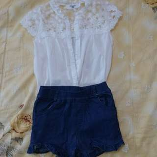 蕾絲套裝(90-100cm穿)