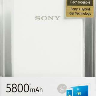 Brand new sony CP-E6 5800 mah power bank