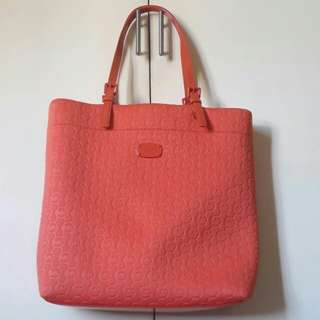 Authentic Michael Kors Tangerine Tote