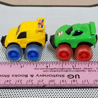 Pullback Monster Tyres minicar - LOT