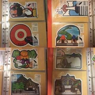 日本郵便局當地特色明信片 京都