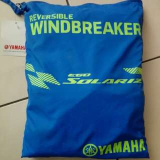 Yamaha reversible windbreaker