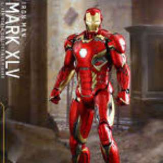 Hot Toys Iron Man Age of Ultron Mark 45
