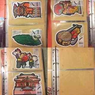 日本郵便局當地特色明信片 沖繩
