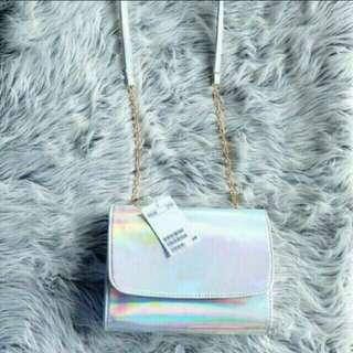 PROMO!! H&M mini clucth slingbag / HNM mini clucth HM slingbag (HABISIN STOCK!!)