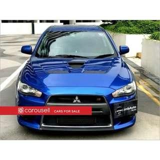 Mitsubishi Evolution 10 GSR SST