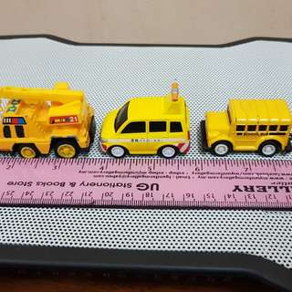 Diecast pullback mini vehicles - LOT